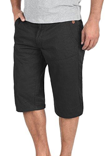 Blend Sunny Chino Shorts Bermuda Kurze Hose Aus 100% Baumwolle Regular Fit, Größe:XL, Farbe:Black (70155)