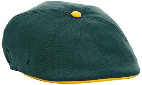 Kangol - Casquette souple Homme Championship 504 Cap - Vert (Green/Gold) - Small