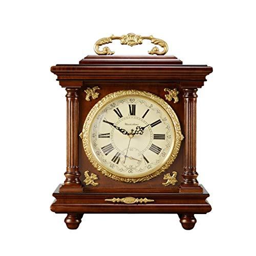 EU11 Sala da pranzo/camera da letto/camino in rame puro retro orologio con decorazione creativa (Taglia : 16.5'/42x32.5cm)