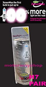 H7 Headlamp Upgrade Bulbs Ring Xenon Max 100% Brighter