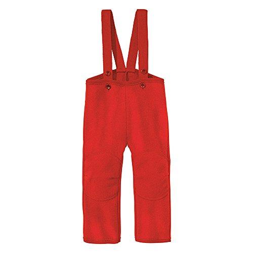 Disana 33303XX - Walk-Hose Wolle rot, Size / Größe:98/104 (2-3 Jahre) (Rote Wolle Hosen)