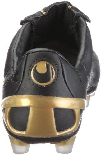 uhlsport Kickschuh Legende MD 100828101, Chaussures de football homme Noir-TR-H4-10