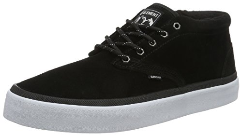 Element Herren Preston Sneakers Low-Top Schwarz (19 Black)