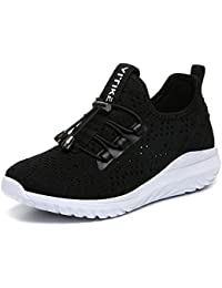 new style 5f926 24f7b Garçon Fille Chaussure de Course Chaussures de Outdoor Sneakers Mode Basket  Chaussure de Course Sport Walking Shoes Running…