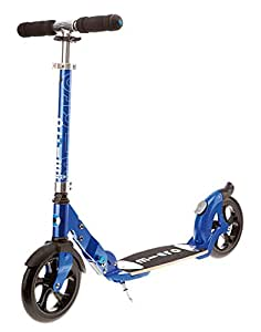 Micro Kinderroller flex Scooter blue