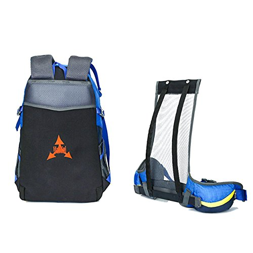 40L Rucksack Biken Outdoor Sport Large Kapazität leicht tragbar Rucksack Bergsteigen Wandern Rad Klettern Multifunktions Tasche H52 x L28 x T20 cm Black