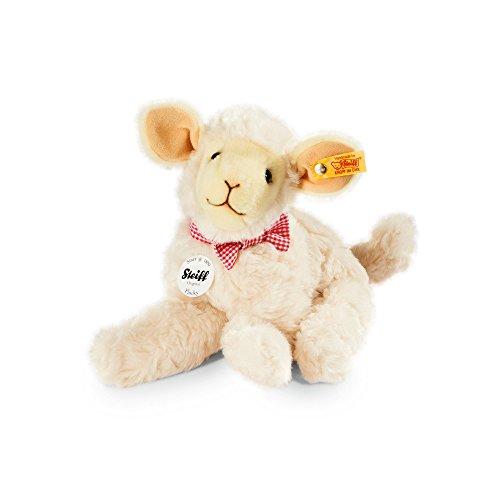 Steiff 103117 - Flocky Lamm 24 Plüsch, creme