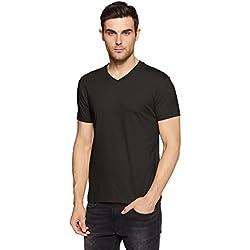 Jockey Men's T-Shirt (2726-0105-BLACK_Black_M)
