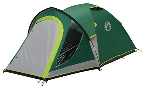 Coleman Tent Kobuk Valley 3/4 Plus,3/4 man tent BlackOut Bedroom Technology, Festival Essential, 1 bedroom Family Dome Tent, 100% waterproof Camping Tent sewn in groundsheet 2
