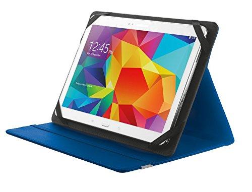 Trust Primo Etui Tablet Schutzhülle mit integriertem Ständer für 25,4 cm (10-Zoll) Tablet blau