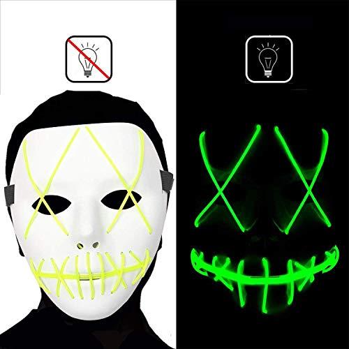 Sehr Scary Halloween Masken - dee banna Halloween Scary Maske Led