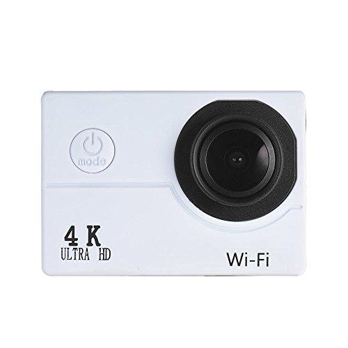 Wenquan,1080P 2.0 LCD WiFi Wasserdichte 40M bewegliche Kamera(Color:Weiss) -