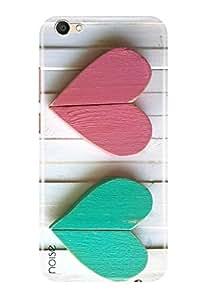 Noise Vivo V5 Designer Premium PolyCarbonate Printed Back Case / Cover for Vivo V5 / Patterns & Ethnic / Heart Design - Noise