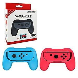 Lenkrad Controller Nintendo Switch Mario Kart 8 Deluxe Lenkrad Joy-Con Racing Wheel Controller Griff Griffe für Nintendo…