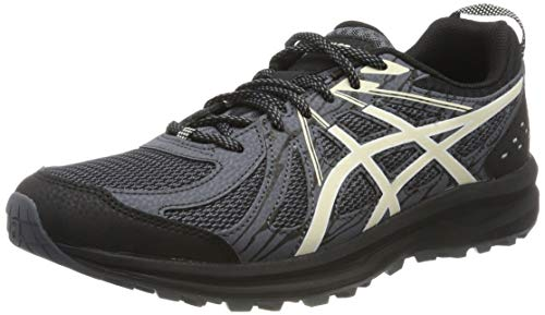 Asics Frequent Trail, Zapatillas de Running para Hombre, Negro (Black/Birch 005), 40 EU