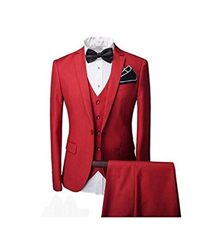 Leader of the Beauty -  Abito  - Uomo Red