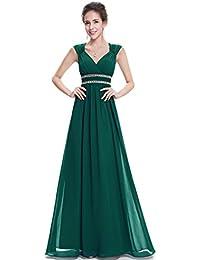 Ever-Pretty Vestido de Noche Elegante con Cuello en V para Mujer 08697