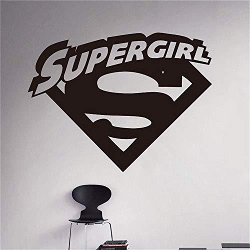 Supergirl Logo Cartoons Comics Superhelden Cartoons Home Interior Kinder Kinderzimmer Dekor (Supergirl Verkleiden Sich)