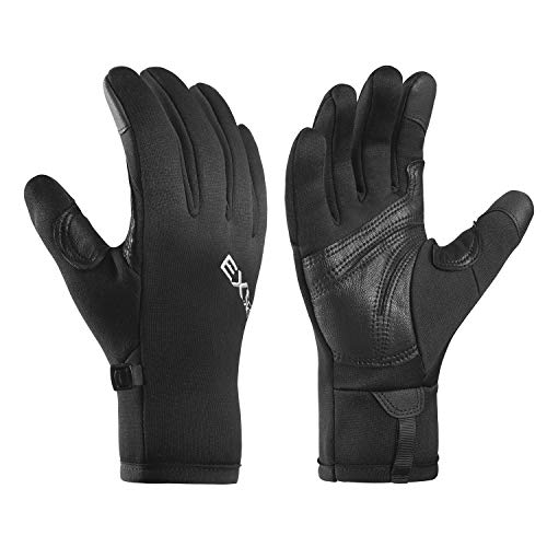 EXski Guantes Running Táctil Movil Guantes Invierno