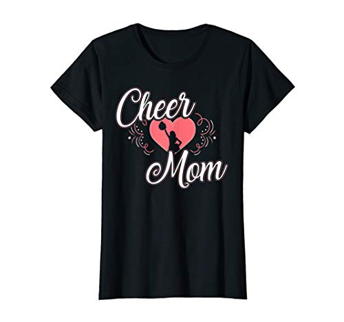 Cheerleader-mama Shirt (Damen Cheer Mom - Cheerleader Mama T-Shirt)