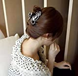 Jovono Mariage Pince à cheveux Accessoires Cheveux Oreillette avec papillon pour femmes et filles