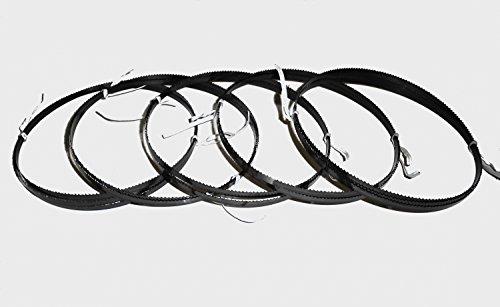 5 x Sägeband Bandsägeblatt 1400 x 6 x 0,36 mm 10 NZ Sperrholz Atika Einhell Test