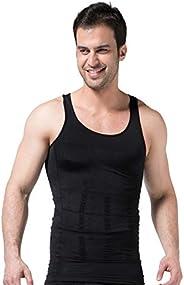 No/Brand Compression Vest Heren Shapewear Spier Hemd Kostuums voor Fitness Zweet Training Slimming Sweat Top t