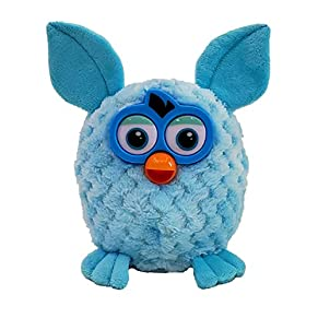 cantante oficial de peluche, Enjoyfeel, suave, música, sonido, muñeca de peluche, peluche, juguetes de peluche, cantando en inglés para niño niña (Blue)