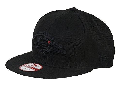 New Era Baltimore Ravens Black On Black Snapback Cap 9fifty Limited Edition