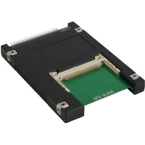'InLine 76621i interne Karte und Schnittstellen-Adapter-Karten und Adapter von Schnittstellen (CompactFlash, Typ II, beige, schwarz, grün, Windows 2000/XP/Vista, Rücken, Mac, Linux, 6,35cm (2,5)) -