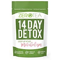 شاي التخلص من السموم 14 يومًا من زيرو تي، شاي شاي الأعشاب والشاي من أجل التنظيف