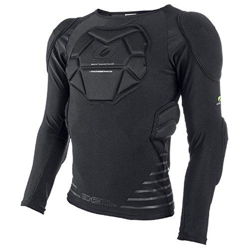 O\'Neal STV Langarm Protektoren Shirt Enduro MTB DH FR Fahrrad Schutz Bekleidung Trikot, 0280-1, Größe Small