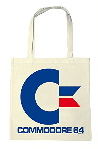 Licensed C64 Shopping Bag, Resuable Eco, Natural Colour