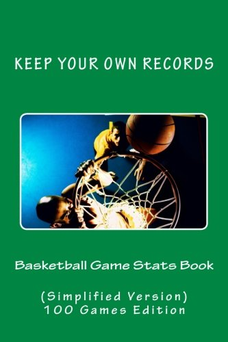 Basketball Game Stats Book: Keep Your Own Records (Simplified Version): Volume 4 (Team Colors)
