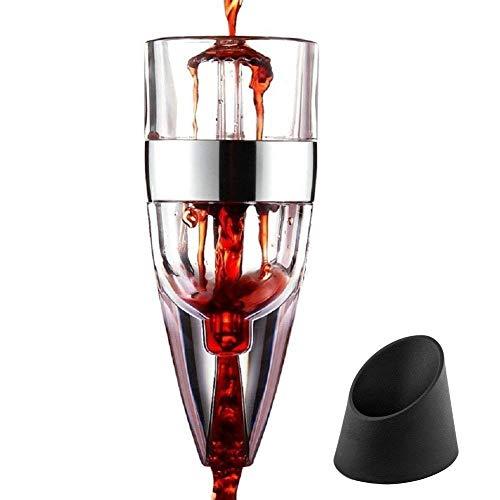 pilaaidou Wein Luftsprudler Dekanter–Quick Speed Wein Luftsprudler Dekanter, Diffusor,...