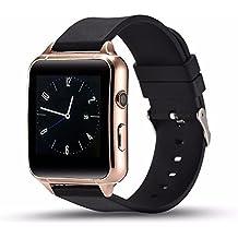 Bluetooth Smartwatch Phone Mate, Smart Watch pour garçons, Smart Watch Excerise tracker / Sleep Monitor / Sports de plein air (Golden)