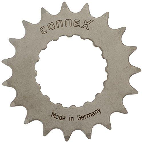Connex E-Bike Ritzel für Bosch Antrieb 19 Zähne Kettenblätter, Silber, One Size