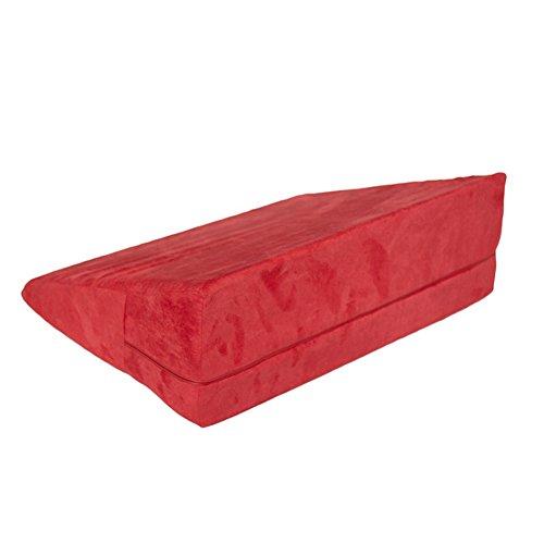 elegantstunning Abdeckung abnehmbare Dreieck Schaum Bett Sex Kissen Keil komfortable Plüsch Fall Sex Kissen für Paare und Self-Entertainment (18