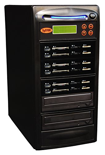Systor 1-5 USB / SD / CF / MS Alles in einem Combo Flash Memory Drive Karten Disc Duplicator Pocket Disc Kanada