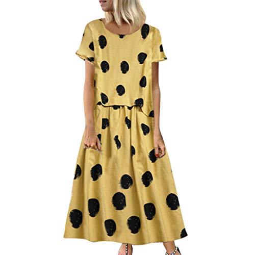 Plus Größe Womens Kostüm - Saihui_Women Dress Damen Baggy-Kleid, Übergröße, lässig,