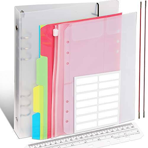 Fandamei A5 Round Ring Binder Co...