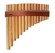 GEWA 700275 Flauti di Pan Premium (15 tubi)