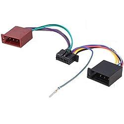 TechExpert Câble Adaptateur ISO autoradio JVC KD-R481 KD-R489 KD-R681 KD-X141 (10x23mm)