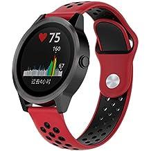 Bestow Garmin vivoactive 3 Reloj de Pulsera de Reloj de Pulsera de Reloj de Silicona Reloj