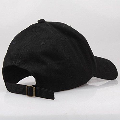 Imagen de absolute  ☀️  de béisbol, hombre mujer sombreros unisex ajustable hip hop sólido sombrero para el sol negro  alternativa