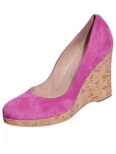 Marion Spath Damen 26-11-11 Wildleder Designer Pumps Pink Größe 37