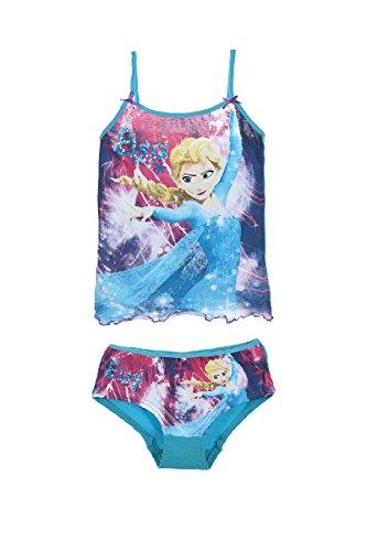 DISNEY FROZEN unterwäshe set mädchen unterhose + tank - Elsa-boxer