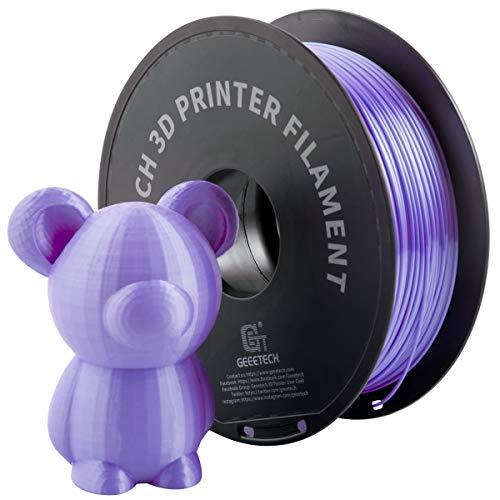 GIANTARM Filamento PLA 1.75mm Silk Viola, Stampante 3D PLA Filamento 1kg Spool