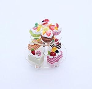 Mini boulangerie gâteau dessert étalage de mariage maison miniature de nourriture