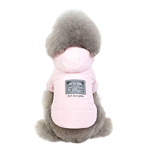 Kapuzenpullover,Hund Haustier Kapuzenpullover Warm Fleece Sweatshirts Hündchen Mantel Bekleidung by Dragon868 (S, - Beagle Jungen Kostüm